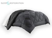 Sleep Restoration product image of grey down alternative comforter small