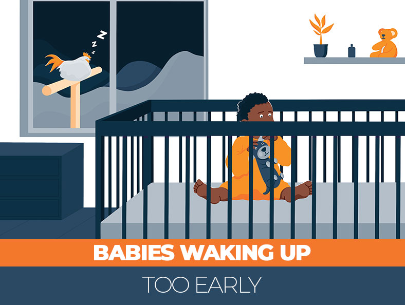 What to do when your baby is waking up too early