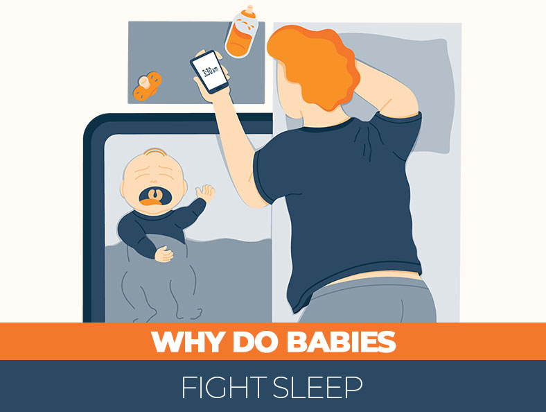 Why do babies have trouble with sleeping
