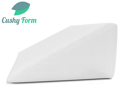 Cushy form wedge triangle pillow product image