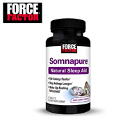 Product image of Force Factor natural sleep aid small