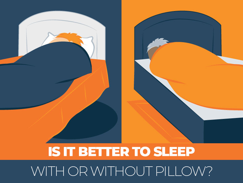 Sleeping With or Without Pillow