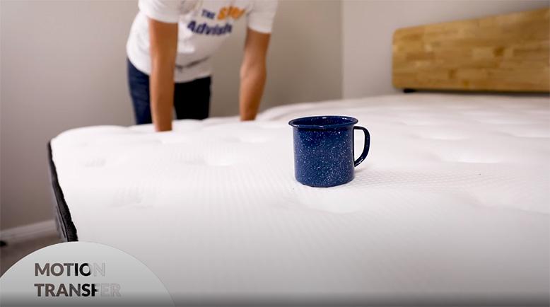 Testing motion transfer on Plank mattress