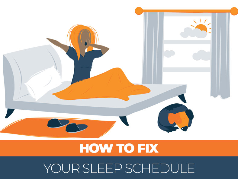 how to reset your sleep schedule
