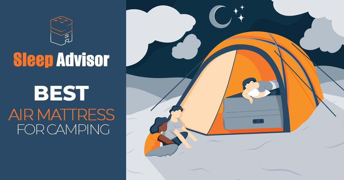 Best Camping Air Mattress Bed Options For 2021 Sleep Advisor