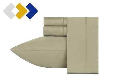 California Design Den 400 Thread Count 100 Cotton Sheet Set product image