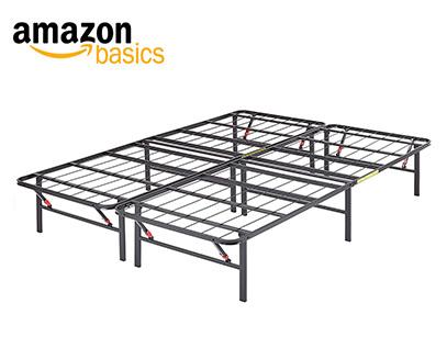 Product image of AmazonBasics Foldable Metal Platform Bed Frame