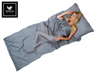 Product image of brave era gray silk sheet small