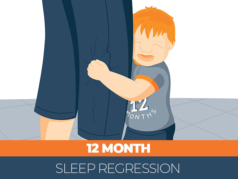 Tips for 12-month sleep regression