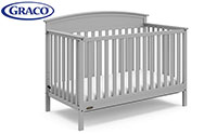 graco product image baby crib small