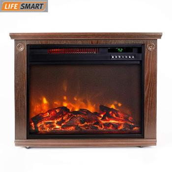 product image of Lifesmart Large Room Infrared Quartz Fireplace