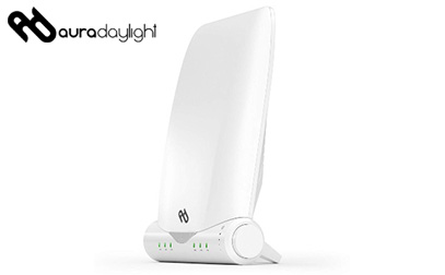 product image of the Aura Day Light Therapy Lamp