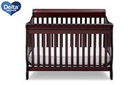 product image of delta children crib small