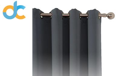 Blackout Curtains Charcoal Grey product image amazlinen