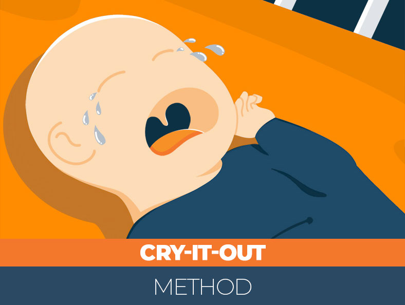 Cry it out method for newborns
