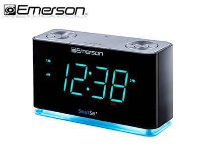 Emerson SmartSet Alarm Clock Radio with Bluetooth Speaker product image