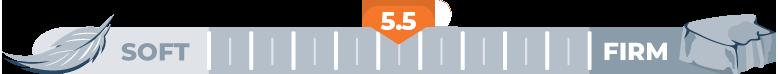 Mattress Firmness Level 5.5
