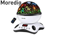 Moredig Night Light Projector Remote Control and Timer Design Projection lamp product image small