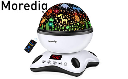 Moredig NightLight Projector Remote Control and Timer Design Projection lamp product image