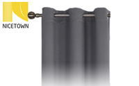 NICETOWN Thermal Insulated Grommet Blackout Curtains for Bedroom product image small
