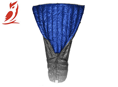 Outdoor Vitals Down TopQuilt for Ultralight Backpacking product image blue gray small