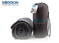 Product image of SORISON Large, Ultra Warm, Puffy Camping Blanket, Hammock Top Quilt and Stadium Blanket for Cold Weather small