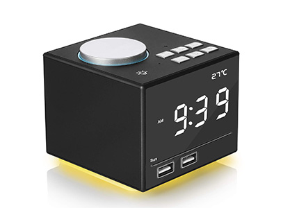Product image of fitfirst bluetooth alarm clock
