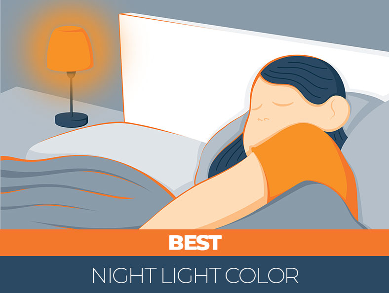 Tips on the best night light color