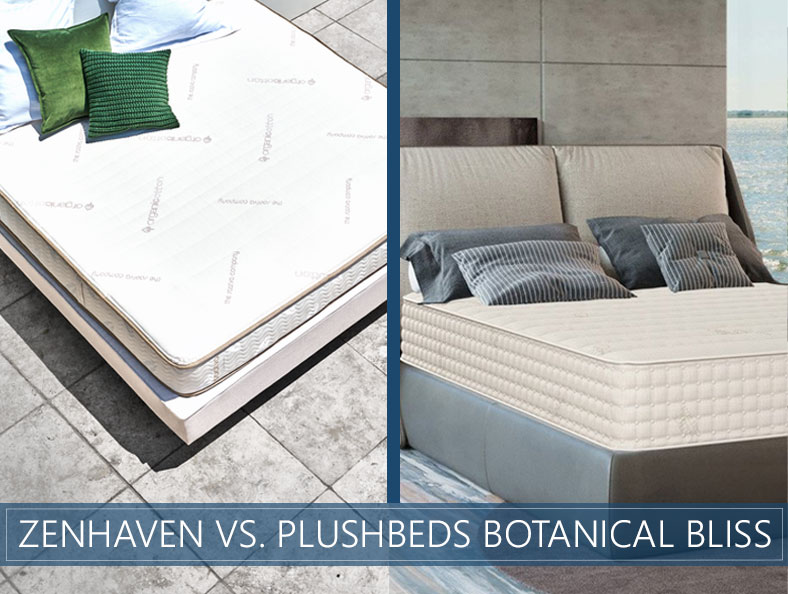 our zenhaven and plushbeds botanical bliss comparison