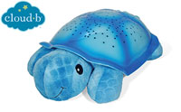 product image of Cloud b Twilight Turtle Blue Night Light Soother small