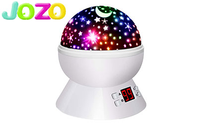 product image of Night Lights for Kids Star Projector with Timer for Baby Boys and Girls