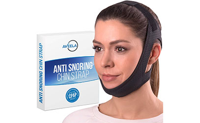 Aveela Premium Anti Snoring Chin Strap for CPAP Users PRODUCT IMAGE