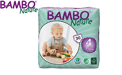 Bambo Nature Eco Friendly Baby Diapers product image