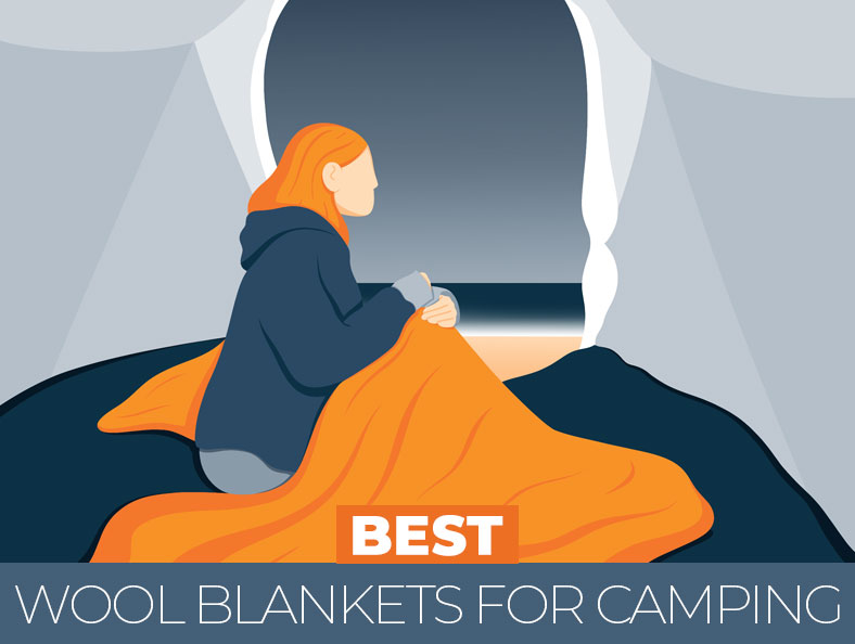 Best Rated Wool Blankets for Camping