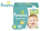 Diapers Size 4, 186 Count - Pampers product image small