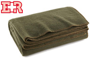 Ever Ready First Aid Olive Drab Green Warm Wool Fire Retardent Blanket product image