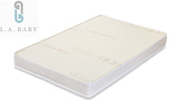 LA Baby 3 inch PortableMini Crib Mattress with Soy Foam Core product image small
