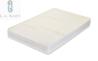LA Baby 3 inch PortableMini Crib Mattress with Soy Foam Core product image