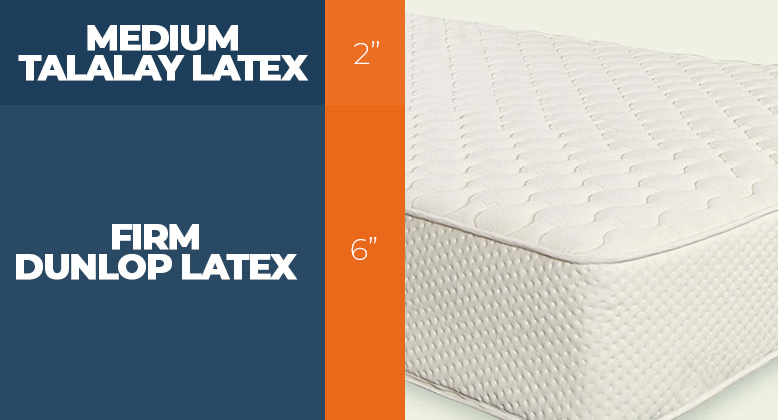 Layers of the Less for Latex bed
