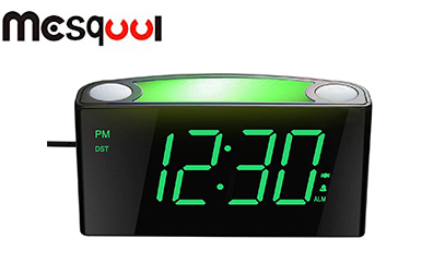 Mesqool Loud Vibrating Alarm Clock product image