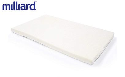 Milliard Mini Crib Memory Foam Mattress Topper product image