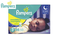 Pampers Swaddlers Overnights Disposable Baby Diapers product image small