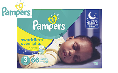 Pampers Swaddlers Overnights Disposable Baby Diapers product image