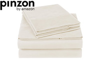 Pinzon 300 Thread Count Organic Cotton Bed Sheet Set product image small
