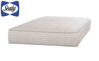 Sealy Baby Firm Rest Antibacterial Waterproof Standard Toddler & Baby Crib Mattress product image small