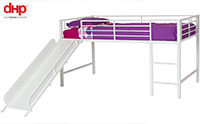 product image of dhp junior loft bed with slide small