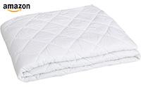 small product image of the mattress pad from amazonBasics