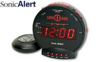 Sonic Bomb Dual Extra Loud Alarm Clock with Bed Shaker product image small