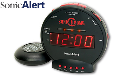 Sonic Bomb Dual Extra Loud Alarm Clock with Bed Shaker product image