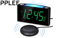 Vibrating Loud Alarm Clock with Bed Shaker for Heavy Sleepers product image small